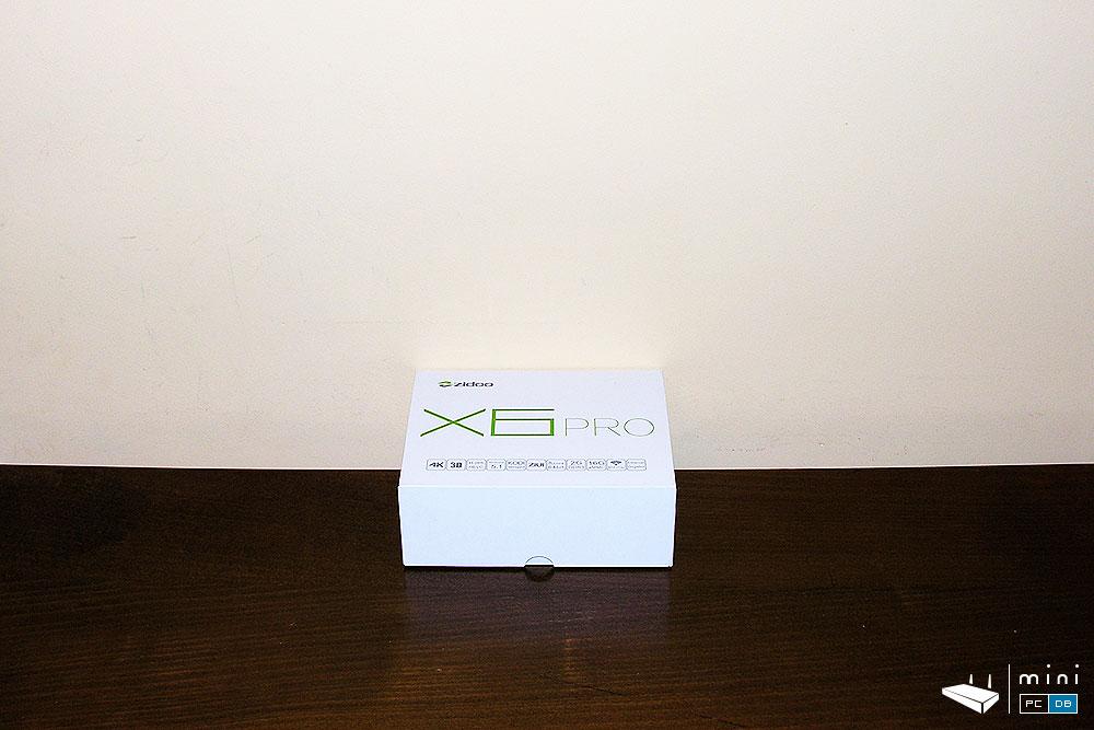 Zidoo X6 Pro box