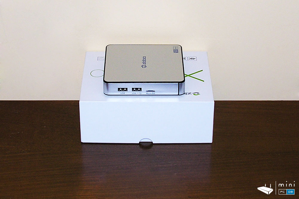Zidoo X6 Pro left